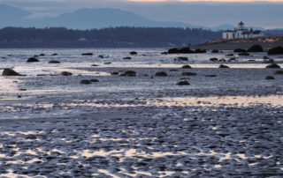 Discovery Park Lighthouse at Low Tide
