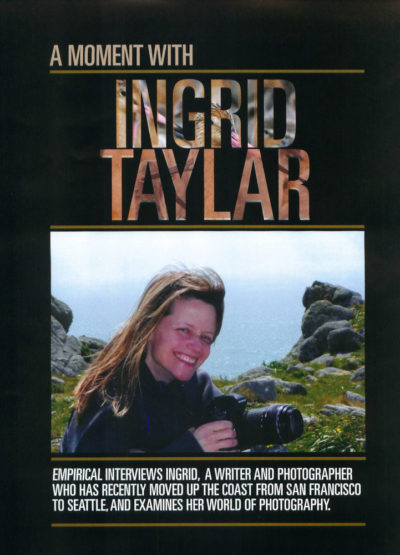 Empirical Magazine Interview - Ingrid Taylar