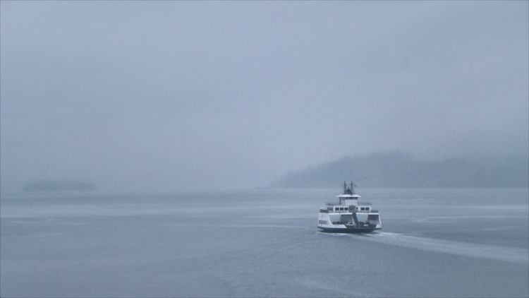 Ferry in Tacoma Mist