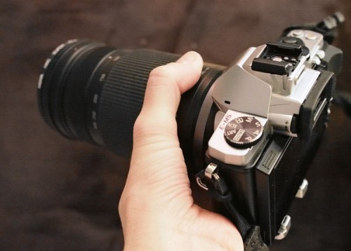 Olympus EM1 with Lumix 100-300mm