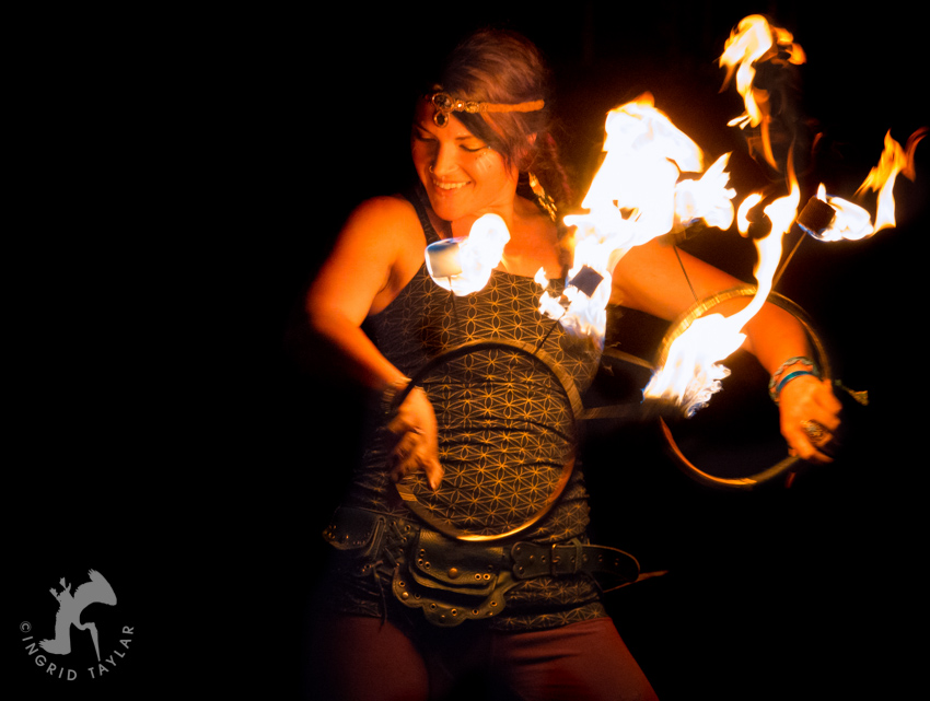 Fire Dancers at Sierra Nevada World Music Festival