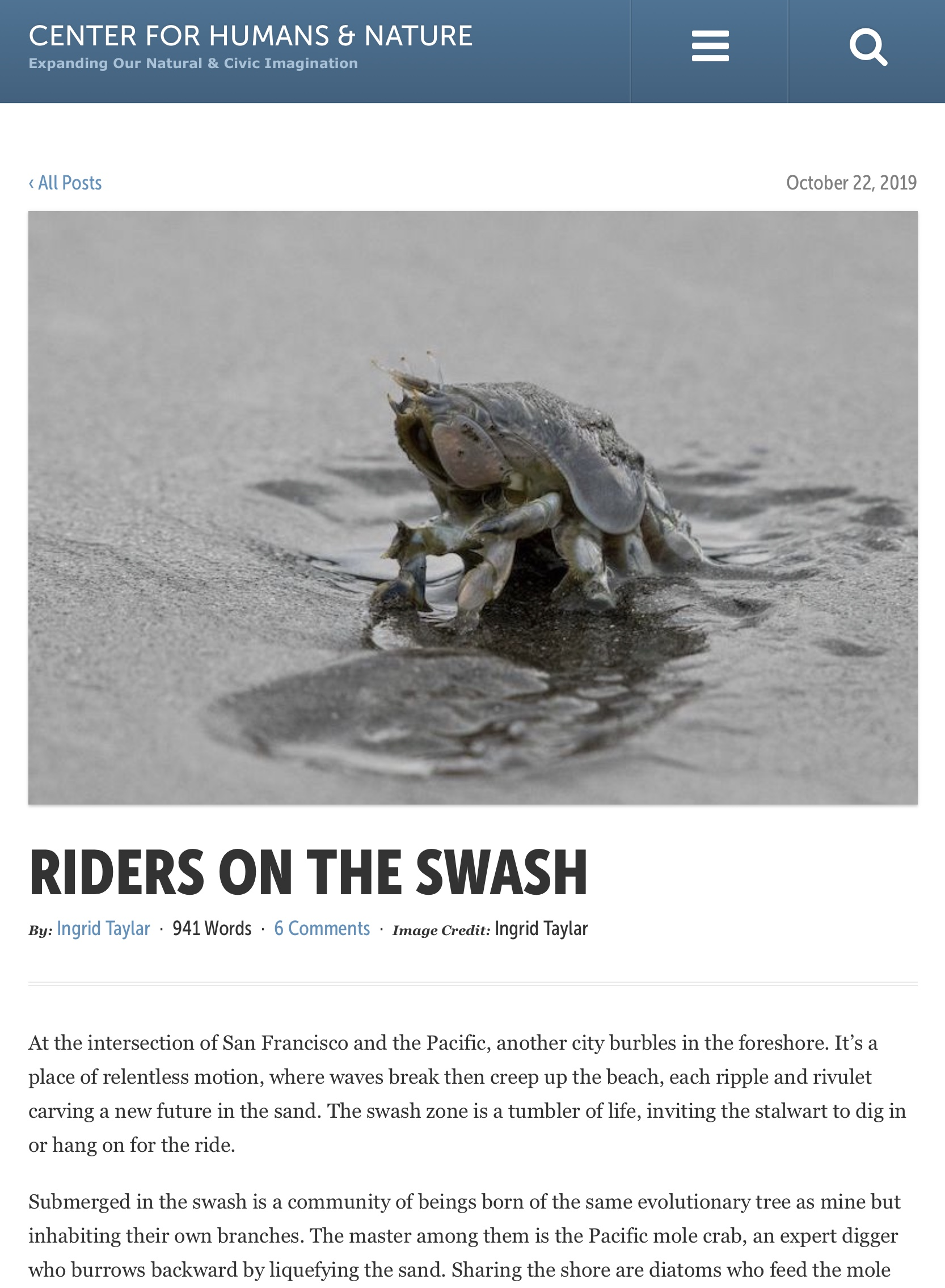 Riders on the Swash