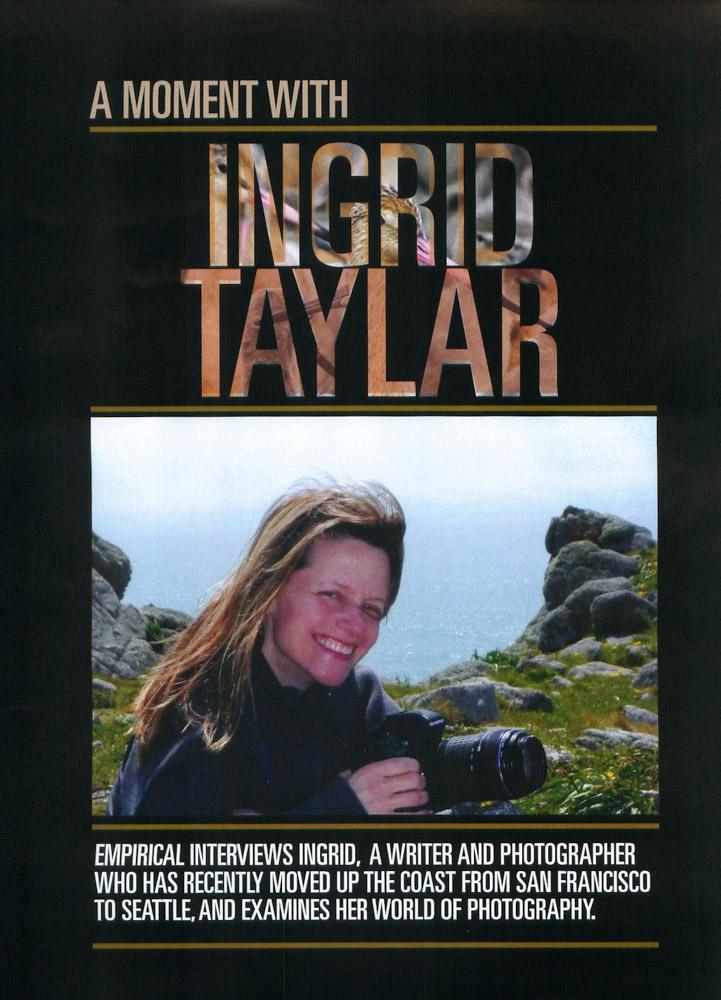Empirical Magazine Interview - Ingrid Taylar