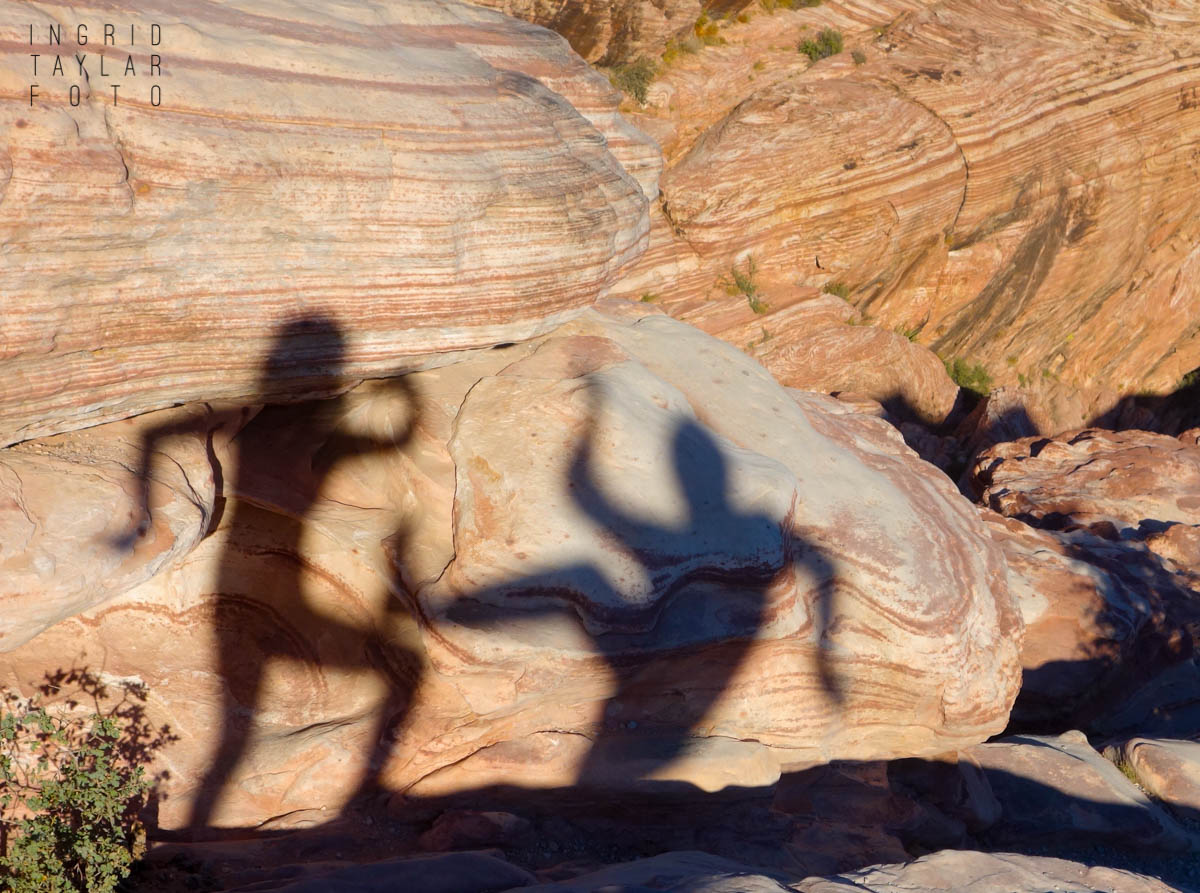 Shadow Play at Red Rock