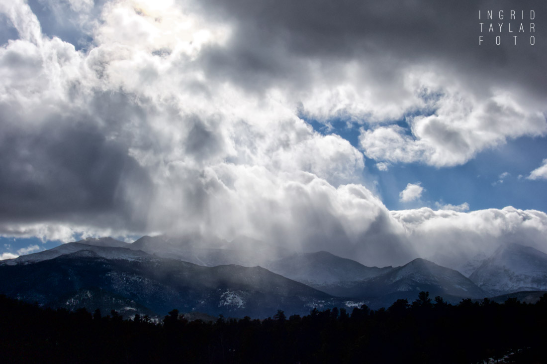 Snow Storm in Rocky Mountain National Park