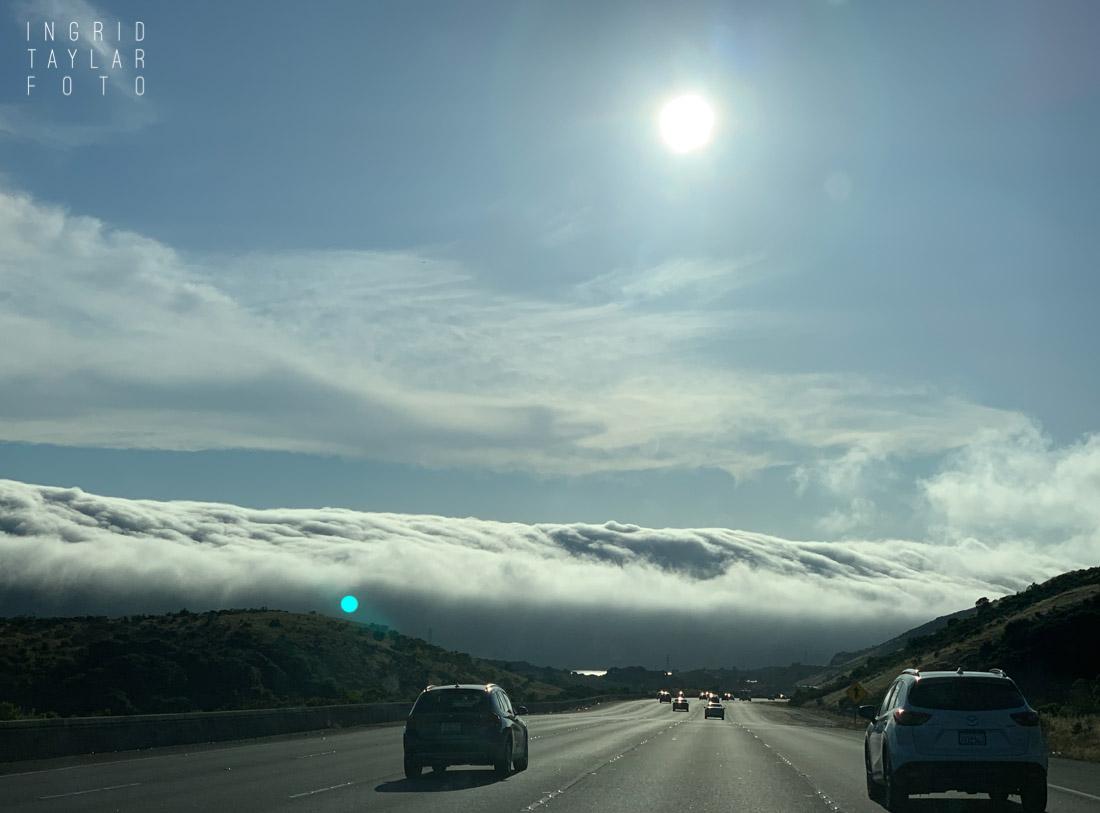 Wave of Fog on Highway 280