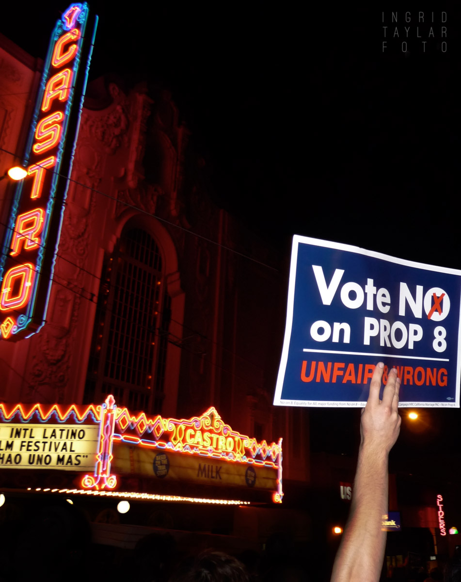 No on Prop 8 Protest in San Francisco