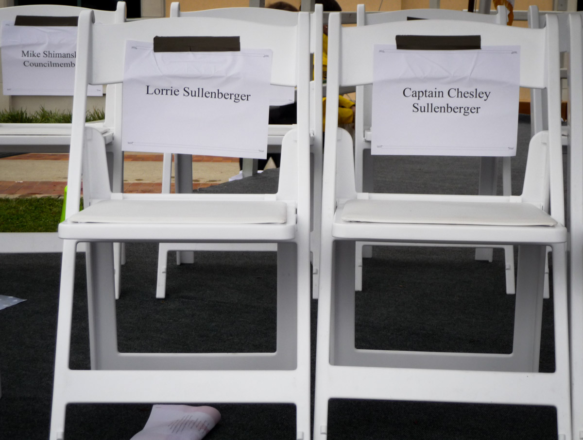 Welcome Home Sully Sullenberger Chairs