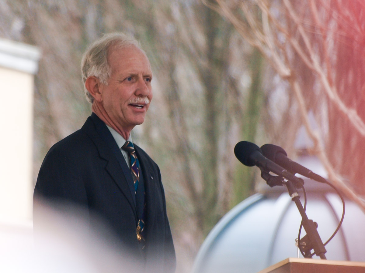 Sully Sullenberger at Welcome Home Celebration 2009