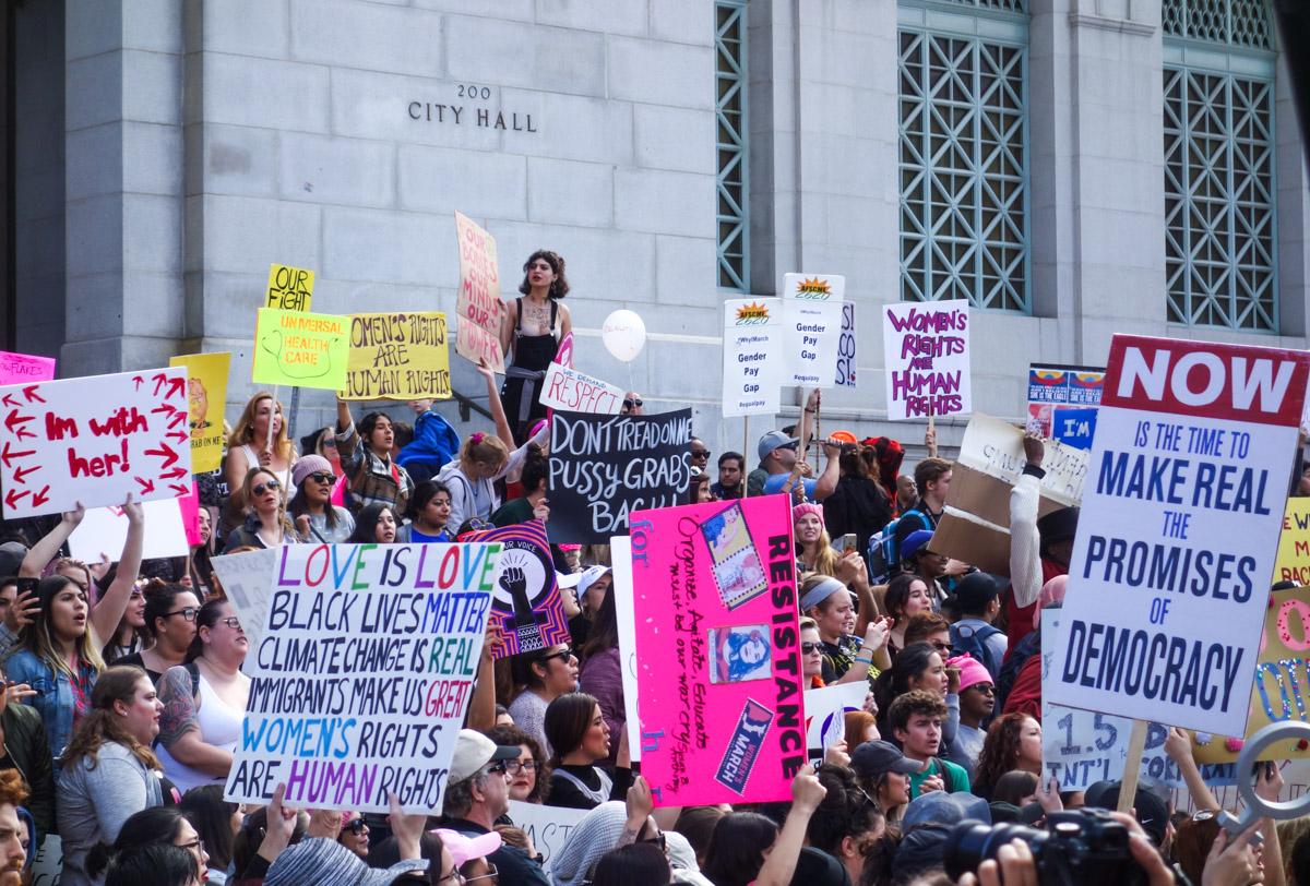Women's March Los Angeles 2017