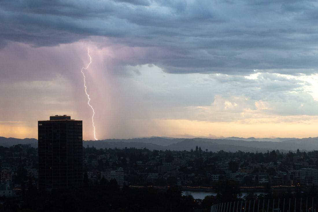 Lake Merritt Lightning Storm 1